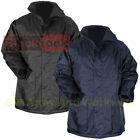 Blackrock Work Full Length Parka Coat Mens Waterproof Quilted Warm 3/4 Security