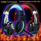 New EACH G9000 3.5mm Gaming Foldable Headset &Microphone USSTOCK For Iphone PSR