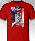 BRYCE HARPER, WASHINGTON STAR OUTFIELDER 2017 COLORBLOCK - Adult Sizes Brand New