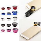 3 in 1 Lens Kit Universal Cell Phone Clip-on Wide Angle Fish Eye Macro Camera TS