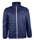 Columbia Men's Crested Butte Omni Heat Insulated Winter Jacket Navy Blue Small