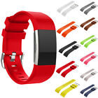 Fitbit Charge 2 Fitness Soft Silicone Wrist Watch Bands Replacement Sport Strap
