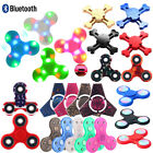 LED Flash Light Up Tri Fidget Hand Finger Spinner Fingertip Gyro EDC Desk Toy