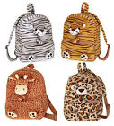 PURSE BACKPACK BAG Animal School w/ Pencil Pouch Attached TODDLER GIRLS KIDS NEW