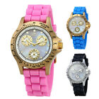 Invicta Speedway Multi-Function Mother of Pearl Dial Silicone Ladies Watch -