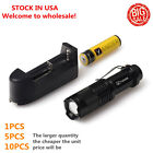 Vander 5000LM Q5 LED Flashlight durable Focus Torch +18650 Battery+Charger *