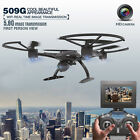 JXD 509G RC Drone Quadcopter with HD 4.3in Monitor Camera 5.8G FPV Altitude Hold