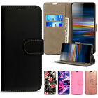 For Sony Xperia L1 - Wallet Leather Case Flip Book Cover + Screen Protector