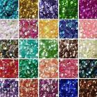 Внешний вид - HOT DIY 2000 pcs Oval Round Cup Sequins Paillettes Loose AB 6mm Wedding Craft