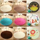 Roung Fluffy Rugs Anti-Skid Shaggy Home Living Room Bedroom Carpet Floor Mat 32""