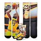 LEBRON JAMES CLEVELAND CAVALIERS NBA MEN'S SZ LARGE COLOR PHOTO CREW SOCKS NWT on eBay