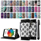 For LG Stylus 2 Plus Stylo 2 Plus MS550 ID Card Wallet Cover Case Stand + Pen