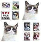 Grumpy Cat Refrigerator Magnet Such a Cute Gift You Choose From Many Designs!