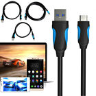 Vention VAS-A37 USB 3.0 Type-C 0.5/1/2m Data Sync Charging Cable For Cellphone