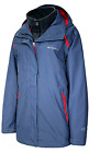 Womens Plus Columbia Arctic Trip 3 in 1 Hooded Winter Jacket Bluebell NWT 3X