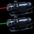 Red/Green Laser Sight + Quich Deatch 20mm Rail Scope Mount For Rifle Gun Hunting