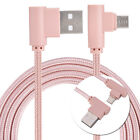 Universal 90 degree Elbow Micro USB 2.0 Charging Data Sync Cable for Android 1M