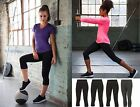 Ladies Womens Capri 3/4 Pants Trousers Leggings - Gym Running Yoga Fitness