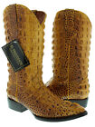 mens rustic yellow alligator exotic print western cowboy rodeo boots