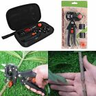 Garden Nursery Fruit Tree Pro Pruning Shears Scissor Grafting Cutting Tools Sets