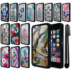"For Apple iPhone 6 Plus/ 6s Plus 5.5"" Hybrid Clear TPU bumper Case Cover + Pen"