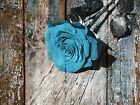 Brown Blue Rustic Modern Home Decor Wall Art Matted Picture (Picture Options)