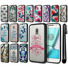 "For Motorola Moto G4 Play 5"" XT1607 Hybrid Clear TPU bumper Case Cover + Pen"