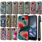 For Motorola Moto Z Droid Edition Hybrid Clear TPU bumper Case Phone Cover + Pen