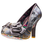 Irregular Choice Ascot Womens Shoes Grey New Shoes