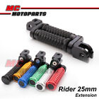 POLE 25mm CNC Adjustable Foot Pegs For Yamaha YZF R1 R1S 2016-2017 16 17