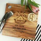 Personalised Favours Happy Father's Day Gift - Deluxe Chopping / Cutting Board
