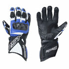 RST Blade II 2125 Blue CE Certified Leather Sports Glove