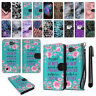 For LG Optimus Zone 3 VS425PP Ultra Slim Canvas Wallet Pouch Case Cover + Pen