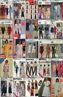 Miss Size 6 8 10 ONLY Separates Group #4 Uncut Sewing Patterns FREE Ship U-Pick