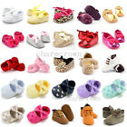 0-18M Newborn Infants Baby Girl Soft Crib Shoes Sandal Moccasin Prewalker Shoes