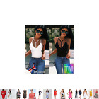 Kylie Jenner Womens Fashion Icon Sleeveless Vest Style Summer Top
