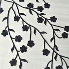 Plum Blossom Flower Applique Clothing Embroidery Patch Sticker Iron On Sew DIY