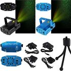 Blue Mini Projector DJ Disco Light Stage R&G Party Laser Lighting Show Plug