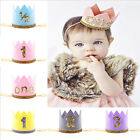 Baby Birthday Crown 1st Birthday Floral Crown Baby Flower Party Hat
