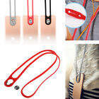 Silicone Soft Lanyard Neck Rope Strap Band Stick-on Buckle For iPhone LG Samsung