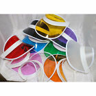 Leisure neutral neon visor, transparent multi-color golf golf cap