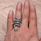 1-50pcs Wholesale Jewelry Mixed Lots Women's Silver Plated Snake Animal Rings