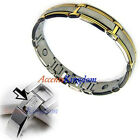 Accents Kingdom Mens Surgical Stainless Steel Magnetic Golf Bracelet H
