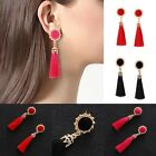 Elegant Women Bohemian Earring Retro Long Tassel Fringe Boho Dangle Earrings hot