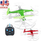 JJRC H97 2.4GHz 4CH 6-Axis LED With Camera RC Quadcopter Drone Aircirft Plane US