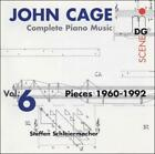 JOHN CAGE: COMPLETE PIANO MUSIC, VOL. 6 (PIECES 1960-92) USED - VERY GOOD CD
