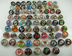 Mix diy charm Chunks series for Snap Button Chunks charm Wholesale 18mm p5
