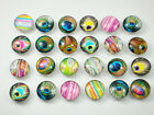 Mix diy charm Chunks series for Snap Button Chunks charm Wholesale 18mm p30