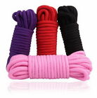 5/10M Soft Cotton Rope Fantasy Play Strap Restraint Toy For Adults