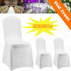 300pcs White Spandex Lycra Chair Covers For Wedding Party Event Banquet Decor